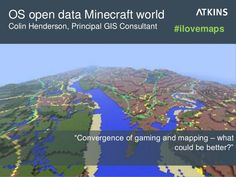 "OS open data Minecraft world: ""Convergence of gaming and mapping – what could be better?"" #ilovemaps"
