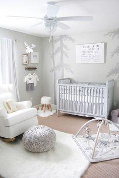 Neutral Baby Kinderzimmer Dekor - Every Non Nursery Room Decor, Girl Nursery, Girl Room, Baby Bedroom, Baby Boy Rooms, Room Baby, Unisex Baby Room, Unisex Nursery Ideas, Ideas Habitaciones