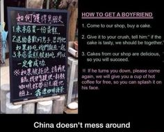Now THAT'S a good business policy lol