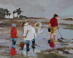 IMG_2457.JPG - Peinture, 60x83 cm ©2011 par Ewa Rzeznik -