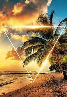 Praia Sol Palm Coco Background Iphone Wallpaper Tropical, Neon Wallpaper, Graphic Wallpaper, Summer Wallpaper, Summer Backgrounds, Photo Backgrounds, Blur Photo Background, Background Images, Event Poster Design