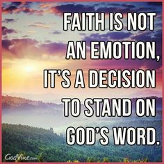 God and faith.  Faith is only given to us by God and in varying degrees, for which we are responsible to use.