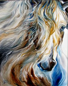 Marcia Baldwin: MANE EVENT ~ An Equine Abstract by M Baldwin