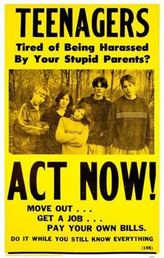 Poster about teens...oh yes