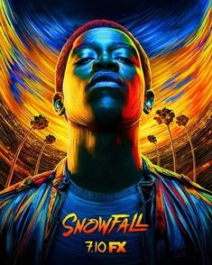 In Season 3 of Snowfall, crack cocaine is spreading like wildfire through South Central Los Angeles, continuing its path of destruction and changing the culture forever. Hd Movies, Movies To Watch, Movies And Tv Shows, Movie Tv, Films, Path Of Destruction, Hair Illustration, Internet Movies, Keys Art