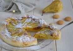 La torta di sfoglia pere e amaretti è una deliziosa torta, facile da fare e perfetta come fine pasto per sorprendere golosamente i vostri ospiti.