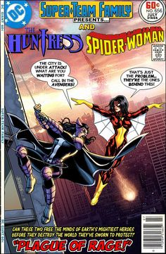 Super-Team Family: The Lost Issues!: The Huntress and Spider-Woman