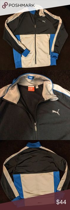 PUMA FAAS MENS ZIP JACKET NWOT NWOT PUMA FAAS JACKET MENS LARGE Puma Jackets & Coats Performance Jackets