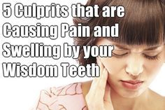 Wisdom teeth generally begin to form in your pre-teen years. By late teen years, the crown of the wisdom teeth will begin to erupt through the gums if there is adequate room. Wisdom Tooth Infection, Teeth Whitening That Works, Remedies For Tooth Ache, Tooth Pain, Wisdom Teeth, Oral Health, Things To Know, Home Remedies, Positivity