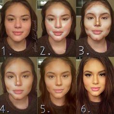 Maquillaje para refinar el rostro