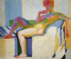 Frantisek Kupka, Plans par couleurs. Grand nu, 1909-1919