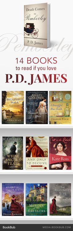 14 great books to read if you love P.D. James
