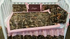 Handmade gifts 3 piece Max 4D or Max5D Duck Camouflage Crib Baby Bedding set Handmade Custom to order, Embroidered, personalized * Learn more by visiting the image link.