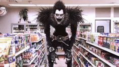 Image result for Death Note ryuk gif