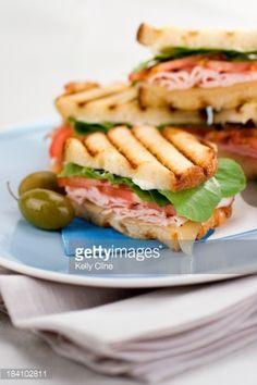 """cafe-style lean turkey breast, arugula, tomato and swiss make up. Sandwich Toaster, Cafe Style, Turkey Breast, Arugula, Sandwiches, Food, Rocket Salad, Toasted Sandwich Makers, Arugula Salad"