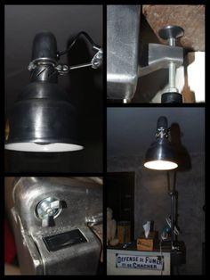 #Lamp, #Light, #Reused, #SewingMachine