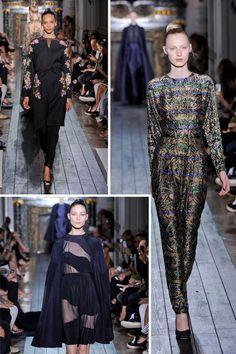 Colection for Valentino Fall 2012 - Midnight in the Garden - by Maria Grazia Chiuri and Pier Paolo Piccioli