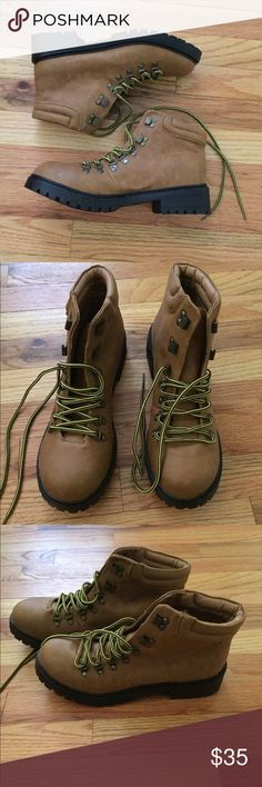 NWOT Dirty Laundry Work Boots Size 10 NWOT. Never worn outside only tried on in the house. Dirty Laundry brand. Women's size 10. Dirty Laundry Shoes Ankle Boots & Booties