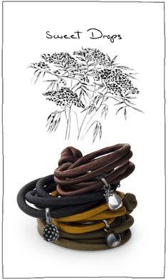 Leather Wraps & Sweet Drops by Ole Lynggaard @ #trewarne Melbourne