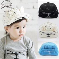 Fair price Cute Baby Cartoon Cat Hat Kids Baseball Cap Palm Newborn Infant Boy Girl Beanies Soft Cotton Caps Infant Visors Sun Hat just only $1.99 with free shipping worldwide  #babyboysclothing Plese click on picture to see our special price for you