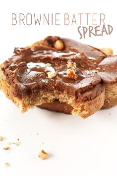 So easy and and incredibly delicious! tastes JUST like a fudgy brownie in spread form! Just 6 basic ingredients! Vegan Treats, Vegan Snacks, Healthy Treats, Sin Gluten, Gluten Free, Baker Recipes, Vegan Recipes, Dessert Dips, Dessert Recipes