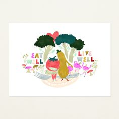 Eat Well, Live Well by Emily Isabella