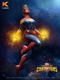 Captain Marvel News, Captain Marvel Carol Danvers, Ms Marvel, Marvel Heroines, Marvel Characters, Marvel Movies, Hulk Vs Superman, X Men, Avengers Painting