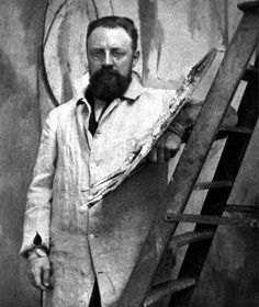 Henri Matisse, leader of the Fauvist movement, was one of the most important painters of the century. Learn more about Matisse and find out how a bout of appendicitis started him on his long career. Henri Matisse, Andy Warhol, Pablo Picasso, Famous Artists, Great Artists, Matisse Pinturas, Matisse Paintings, Photo Portrait, Photo Art