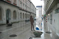 Señalización turística y comercial de Ferrol, Galicia, diseño Arcadi Moradell / SignalDesig.