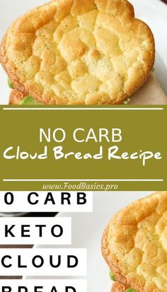 NO CARB Cloud Bread Recipe | How To Make Cloud Bread For Keto and Low Carb Diets #diet #keto #diet