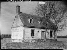 Built between 1720 to 1730, the Hinman-Fisher-Mason House  Accomack County, VA