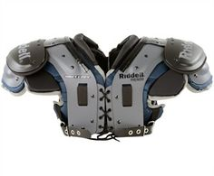 Bring the crowd to their feet as you lay down hits in the Riddell Phenom AP Adult Football Shoulder Pads - All Purpose. Designed with the varsity player in mind, the Phenom Shoulder Pads have a great Air Management padding system Football Drills, Football Gear, Black Bucket Hat, Football Equipment, Hairspray, Shoulder Pads, Cali, Purpose, American