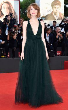 Emma Stone, espectacular en el Festival Internacional de Cine de Venecia