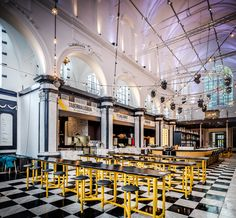 Holy Food Market: de nieuwe place to be voor foodies - vtwonen. Belgium Food, Church Conversions, Food Park, Ghent Belgium, Light Architecture, Trip Planning, Rotterdam, Places To See, Holi