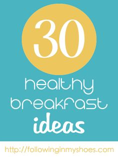 You know breakfast is the most important part of your day. If you're too busy, plan your breakfasts the night before but make sure you've filled your brain before starting the day on empty.