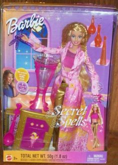 Secret Spells Barbie in box