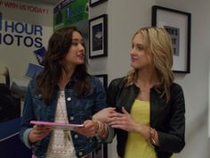 Christina Masterson and Ciara Hanna in Power Rangers Megaforce Pink Power Rangers, Power Rangers Megaforce, Pawer Rangers, Mouse Ears, Girls Life, Besties, Lace Dress, Bubbles, Leather Jacket