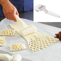 high Quality Small Size Plastic Baking Tool Cookie Pie Pizza Pastry Lattice Roller Cutter Craft kitchen accessories