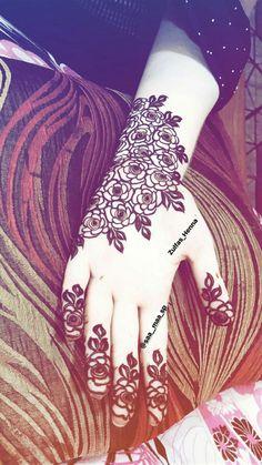 Rose Mehndi Designs, Mehndi Design Pictures, Latest Mehndi Designs, Mehndi Images, Mehndi Designs For Hands, Mehndi Tattoo, Henna Tattoo Designs, Mehndi Art, Mhndi Design