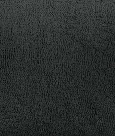 Black Terry Cloth