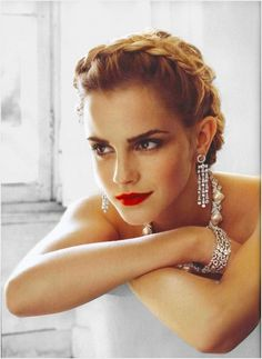Emma Watson, icon in the making.