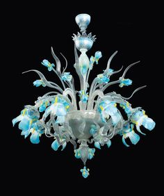 DIFFERENT COLORS murano glass chandelier | Iris_8_light_murano_glass_chandelier_large.jpg?v=1372399844
