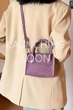 Launching Soon, Product Launch, Live, Bags, Collection, Shopping, Style, Handbags, Swag