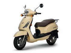 SYM Fiddle II 125 Scooter Motorcycle, 50cc, Urban, Retro, Scooters, Classic, Vehicles, Image, Summer 2016