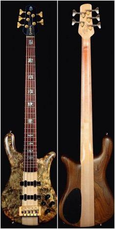 Spector NS-5 Bass to USA Neck Thru Series