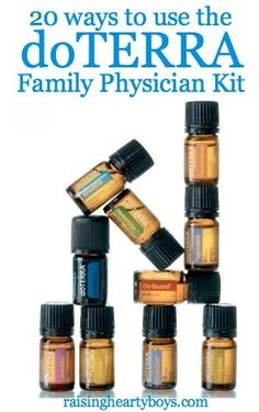 20 ways to use the doTERRA Essential Oils Family Physician Kit to help your…                                                                                                                                                                                 More