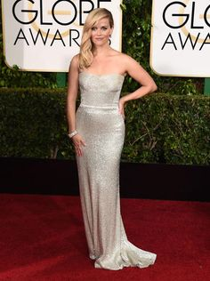 Golden Globes 2015 Red Carpet Arrivals | Reese Witherspoon ('Wild') Always one of my FAVs
