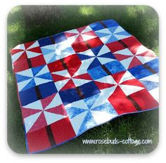 Sparklers quilt made from the 20-minute block Tutorial