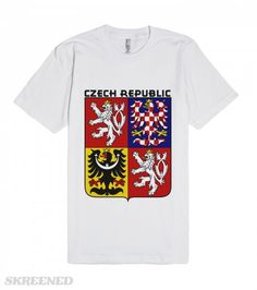 CZECH REPUBLIC-COAT OF ARMS | Wanderlust (Middle High German: wandern, to wander, and Lust, desire) is a German loanword. It is commonly defined as a strong desire to travel, or, of having a strong desire to explore the world. FOLLOW MY UPDATES AND NEW DESIGNS ON http://twitter.com/griffinpassant #Skreened