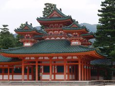 Imperial palace in Kyoto, Japan